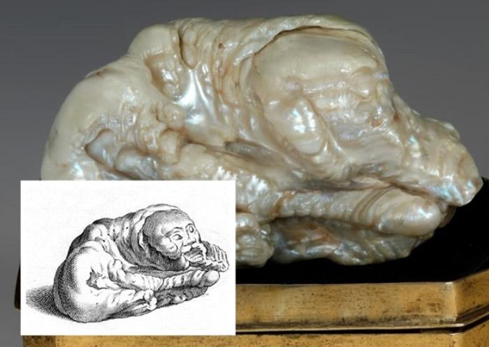 """巨型珍珠恍似一只躺下睡着了的狮子,因而有""""睡狮""""之名。-趣闻巴士"""