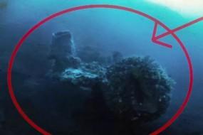 美国寻宝者百慕大海底发现疑似外星飞船
