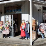 日本一荒村摆满诡异人偶