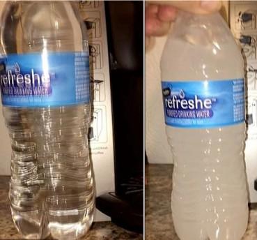 零下22度瓶装水还没结冰 原因很神奇