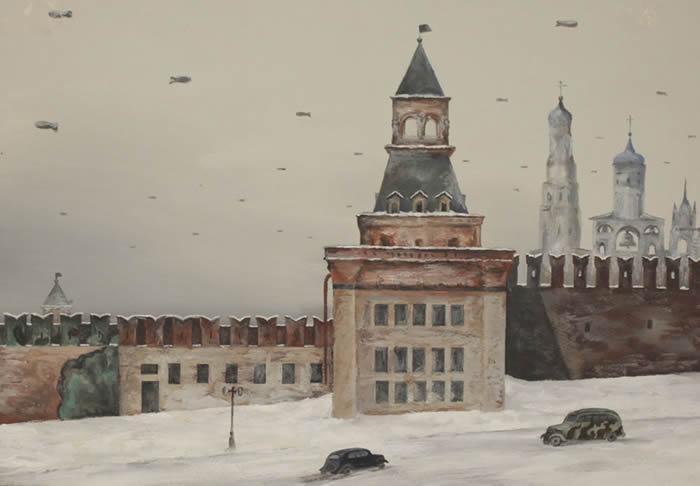 莫斯科克里姆林宫的掩饰伪装草图-趣闻巴士
